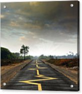 Drive Safely Acrylic Print