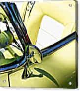 Driver's Seat -- 1958 Chevrolet Corvette At The Golden State Classic Car Show, Paso Robles Ca Acrylic Print