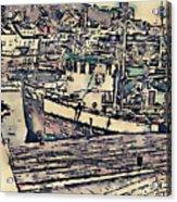 Drobak Harbor Acrylic Print
