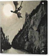 Drogon's Lair Acrylic Print