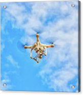 Drone On The Air Acrylic Print