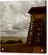 Droop Mountain Battlefield Acrylic Print