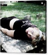 Drop Dead Acrylic Print