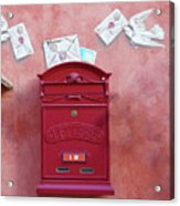 Drop Me A Letter Mr. Postman Acrylic Print