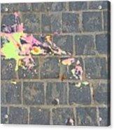 Drop Of Colour Acrylic Print