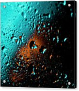Droplets V Acrylic Print