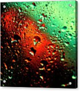 Droplets Vii Acrylic Print