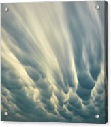 Dropping Clouds Acrylic Print