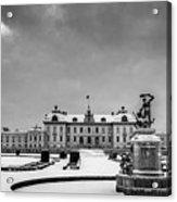Drottningholm Castle Winter Acrylic Print