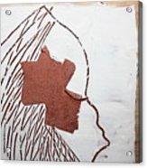 Drowsy - Tile Acrylic Print