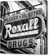 Drug Store #2 Acrylic Print