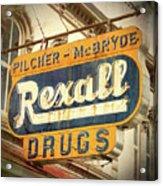 Drug Store #3 Acrylic Print