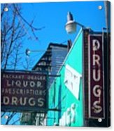 Drugs Acrylic Print