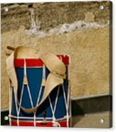 Drum At The Wall Acrylic Print