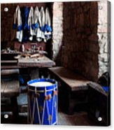 Drum Corps  Acrylic Print by Peter Chilelli