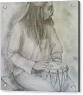 Drum Player Acrylic Print