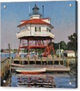 Drum Point Lighthouse Acrylic Print
