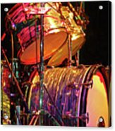 Drum Set Acrylic Print