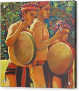 Drumbeat Of The Kalinago Acrylic Print