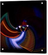 Drummer Dance Acrylic Print