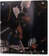 Drummer's Hand Acrylic Print