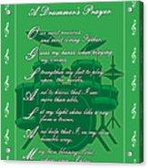 Drummers Prayer_1 Acrylic Print by Joe Greenidge
