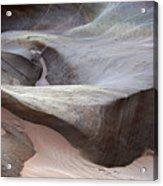 Dry Creek Acrylic Print by Bob Christopher