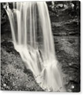 Dry Falls - Blue Ridge Mountains - Number Two Acrylic Print