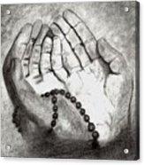 Dua -hands Of Faith No. Six Acrylic Print