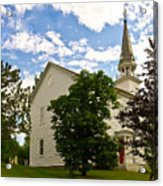Duanesburg, Ny, Church Acrylic Print