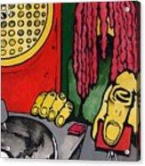 Dub Club Acrylic Print