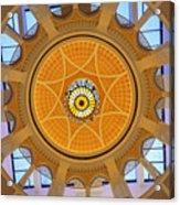 Dubai Mall Dome  Acrylic Print