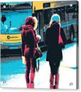 Dublin Ladies Acrylic Print