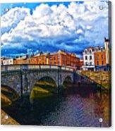 Dublin's Fairytales Around Grattan Bridge 2 Acrylic Print