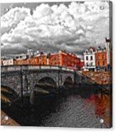 Dublin's Fairytales Around Grattan Bridge 2 V3 Acrylic Print
