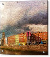 Dublin's Fairytales Around  River Liffey 2 Acrylic Print