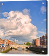 Dublin's Fairytales Around  River Liffey Acrylic Print