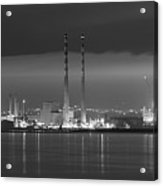 Dublins Nocturnal Beauty  Acrylic Print