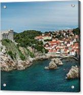 Dubrovnik Panorama Acrylic Print