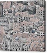 Dubrovnik Rooftops #2 Acrylic Print