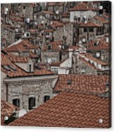 Dubrovnik Rooftops #3 Acrylic Print