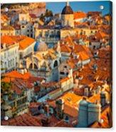 Dubrovnik Sunset Acrylic Print
