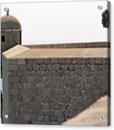 Dubrovnik The Wall Acrylic Print