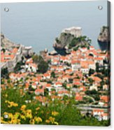 Dubrovnik, The Walled Old City Acrylic Print