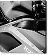 Ducati 1098 Motorcycle -0893bw Acrylic Print