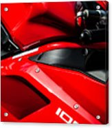Ducati 1098 Motorcycle -0893c Acrylic Print