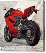 Ducati 1199 Panigale Acrylic Print