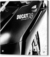 Ducati 749 Acrylic Print