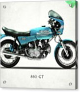 Ducati 860 Gt 1975 Acrylic Print