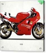 Ducati 888 Acrylic Print